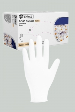 100 gants chirurgicaux en latex blanc - Boite de 100 gants jetables en latex blancs pour jouer au docteur.