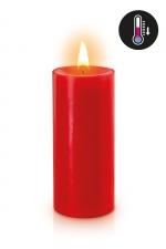 Bougie basse température rouge - Bougie noire spéciale pour vos scénarios BDSM. Elle fond à basse température pour éviter les brulures.
