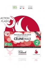 Provocateur de désir Flash CélineMax (2 doses) - Stimulateur sexuel pour femme à effet rapide, 2 doses en sachets.