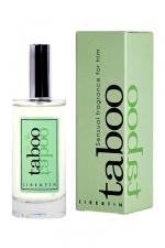 Parfum d'attirance Taboo Libertin - Eau de toilette Taboo Libertin pour homme, Conçue pour vous transformer en séducteur.