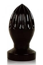 Plug anal presse-citron - Stimulateur anal géant en forme de presse-agrumes, gamme  All Black .