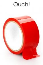 Ruban de bondage 20 m - rouge - ruban de bondage rouge (20 m), non collant, utilisable pour toutes sortes de jeux coquins, au gré de vos fantasmes.