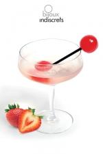 Sucette Bi - Sucette à partager saveur fraise, vin pétillant. Une invitation à toutes les gourmandises !