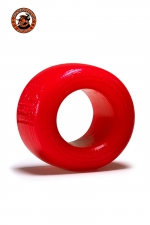 Balls-T Ballstretcher - rouge - Le ball-stretcher phare de la marque Oxballs, en version  small , coloris rouge, plus accessible et utilisable pour s'entrainer.
