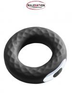 Anneau vibrant Spanning Ring - Malesation - Puissant anneau de pénis vibrant, 10 vitesses, à positionner sur la verge ou les testicules.