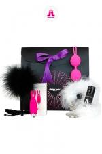 Coffret Purple Box Adrien Lastic - Glamour et coquin, voici le coffret cadeau  version Purple d'Adrien Lastic. spécial Plaisir féminin.