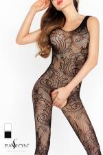 Combinaison Arabesques Passion - La r�sille dessine des arabesques de fleurs, un motif Tatoo qui s'imprime sans douleur sur votre peau.