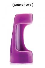 Vibrating sleeve - Shots Toys - Gaine vibrante à utiliser comme anneau de pénis ou comme extension de votre vibromasseur favori.