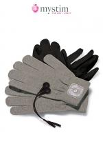 Gants électro-stimulation Magic Gloves - Mystim - Paire de gants de stimulation par impulsion électrique pour atteindre de nouveaux sommets de plaisir!