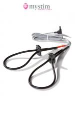 Noeuds électro-stimulation Rodeo Robin - Mystim - Noeuds coulants  special electro stimulation pour le penis ou les testicules.