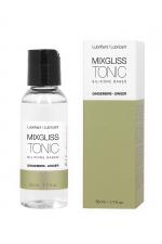 Mixgliss silicone - Gingembre 50ml - Fluide 2 en 1 massage et lubrifiant riche en silicone, parfumé au Gingembre.