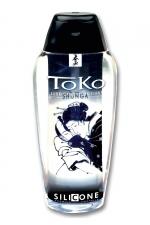 Lubrifiant Toko Silicone - un lubrifiant silicone révolutionnaire  (165 ml), avec une texture somptueuse et veloutée extra longue durée, par Shunga.