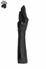 Gode All Black fucker (37 cm) - le gode  avant bras  special fist-fucking, réservé aux amateurs de dilatations extrêmes.