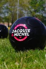 Ballon de foot J&M - Véritable ballon de football Jacquie & Michel en série limitée.
