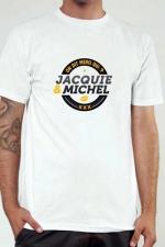 T-shirt Jacquie & Michel n°2 - Le Tee-shirt exclusif (visuel 2) à l'effigie de  Jacquie & Michel, votre site amateur préféré.