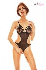 Body ouvert Expresivo - Anaïs - Superbe body ouvert très minimaliste mais tellement sexy fabriqué en Europe par Anaïs Lingerie.