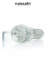 Masturbateur Fleshlight GO Transparent - Un masturbateur Haut de gamme, portable et discret, pour les grands voyageurs.