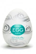 Oeuf Tenga Surfer - Saurez vous résister longtemps à la déferlante de plaisir du masturbateur Tenga Surfer?