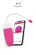 Oeuf vibrant connecté Magic Vini - Magic Motion - Le top des stimulateurs féminins connectés pour se faire plaisir en couple dans l'intimité ou dans des lieux publics.  litoridien et vaginal connecté, contrôlable depuis le sextoy ou à distance avec votre smartphone.