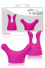 Palm Body Massager Heads - 2 accessoires special massages dédiés au Palm Power Massager.