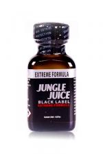 Poppers jungle juice black label 24 ml - Le poppers Jungle Juice black original dans une nouvelle formule extrême, extra forte, à base de nitrite d'amyle.