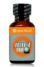 Poppers Juice  zero 24 ml - Poppers hybride pour des sensations max et confort accru avec fermeture Mega Pellet.