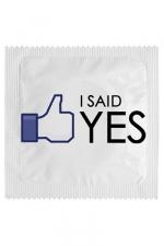 Préservatif humour - I Said Yes - Préservatif   I Said Yes , un préservatif personnalisé humoristique de qualité, fabriqué en France, marque Callvin.