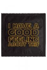 Préservatif humour - Good Feeling - Préservatif  Good Feeling , un préservatif personnalisé humoristique de qualité, fabriqué en France, marque Callvin.